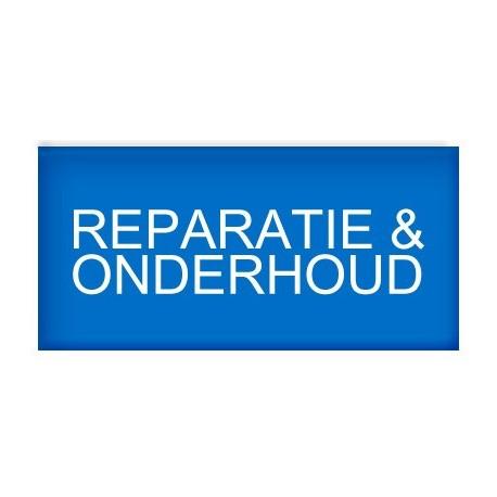 Reparatie en onderhoud afrekenen