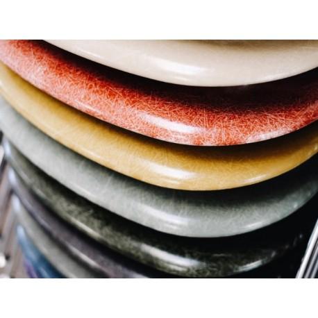 Eames kuipje glasvezel in diverse kleuren